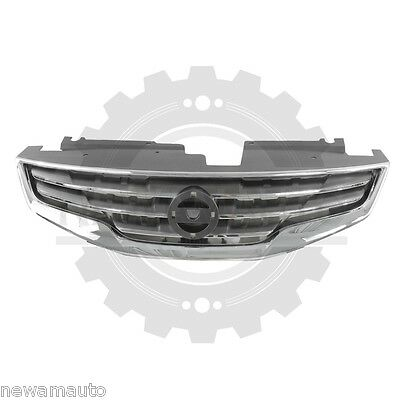 AM New Front GRILLE For Nissan Altima CHROME NI1200236 62070ZX00A