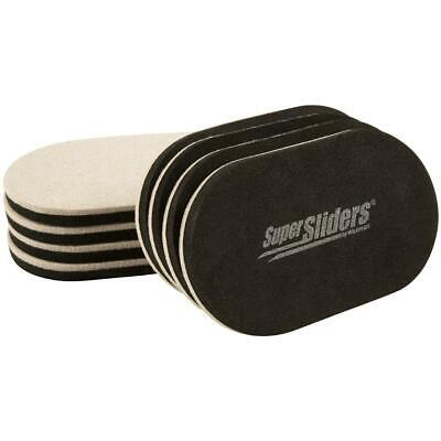 SuperSliders 4705395N Reusable XL Heavy Furniture Sliders for Hardwood Floors-