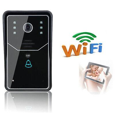 Wireless WiFi Remote Video Door Phone Doorbell Rainproof IR Night Vision System