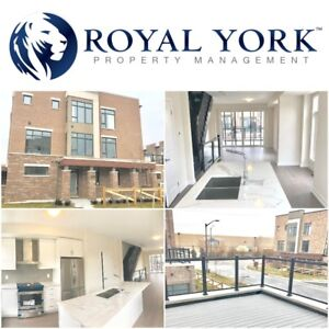 3 BED+DEN/3 BATH -BRAND NEW LARGE TOWNHOUSE FOR RENT @ VAUGHAN |