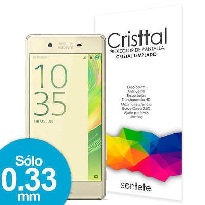 Sentete® Sony Xperia X Protector de Pantalla de Cristal Templado PREMIUM
