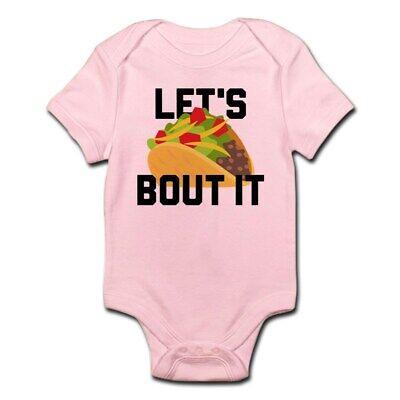 CafePress Let's Taco Bout It Infant Bodysuit Baby Bodysuit