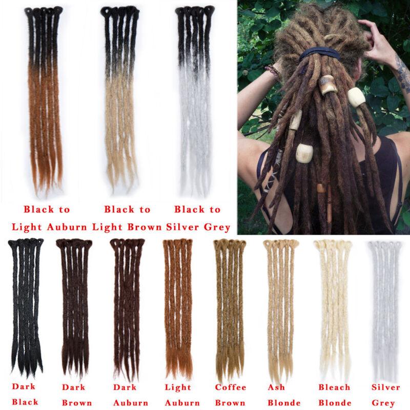 Us Men Thick 100 Handmade Dreadlocks Crochet Braiding Hair