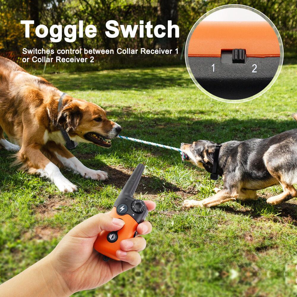 Купить Ipets PET619S1 - Ipets 900ft Remote Dog Shock Collar Rechargeable Waterproof Dog Training Collar
