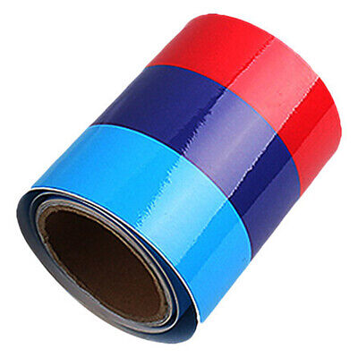 5FT M-Colored Stripe Sticker car Vinyl Decal For BMW M3 M4 M5 M6 3 5 6 7 Series