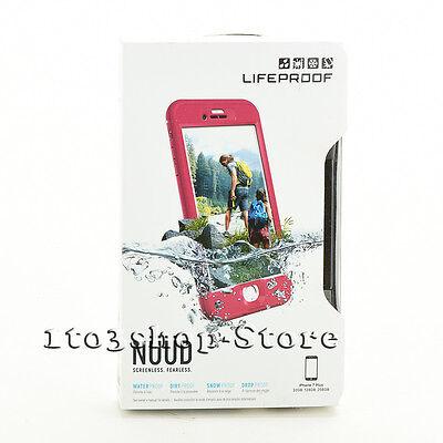 LifeProof nuud iPhone 7 Plus iPhone 8 Plus Waterproof Hard Case Plum Reef Purple