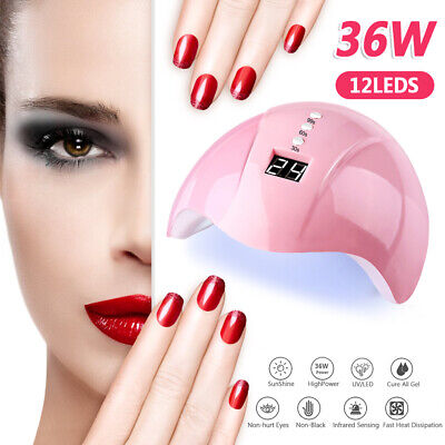 36W Nail dryer Nail light UV LED gel smart quick-drying induction nail lamp