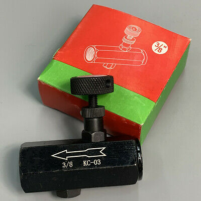 Flow Control Valve 38 Throttle Valve Check Valve Npt 3000psi Steel Hydraulic
