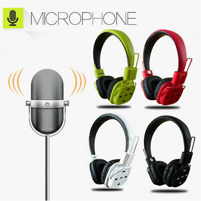 Wireless Bluetooth Stereo Headsets with Microphone Super HIFI Bass Headphones