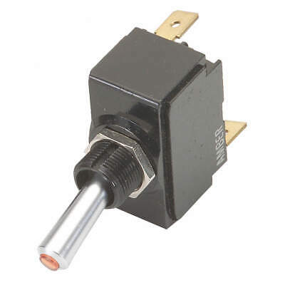 Carling Technologies Lt-1561-601-012 Toggle Switchspdt20a 12vquikconnct