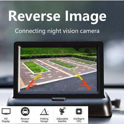 Foldable 4.3 inch Car Screen Display Rear View Monitor Reversing Back up Camera