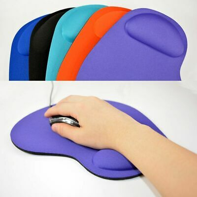 New Comfort Support Game Mat Soft Gel Computer PC Laptop Wrist Rest Mouse Pad