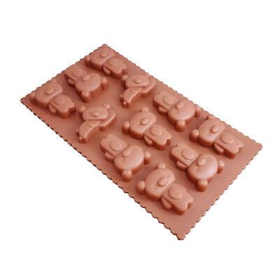 Silikon Eiswürfelform Teddybär Bären Pralinenform Schokoladenform Eis Form (Teddy Bär Form)