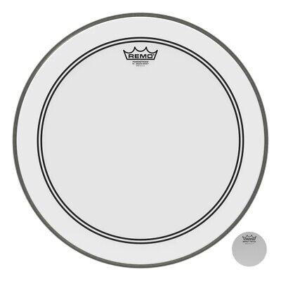 Remo Powerstroke 3, Smooth White, 18 Diameter, 2-1/2 Impact Patch