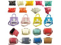 joblot wholesale ladies tote pu leather shoulder and handbags new