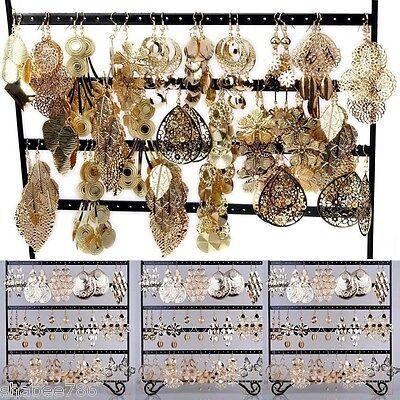 New LOT Mixed 6 FASHION Necklaces Bracelet EARRINGS Hoop Dangle Rings Bangles
