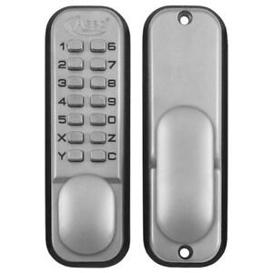 Asec Digital Push Button Mechanical Door Lock Key Pad Code Combination Access
