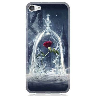 For Apple iPhone 7/7 Plus/8/8 Plus/X Case Cover beauty and the beast rose