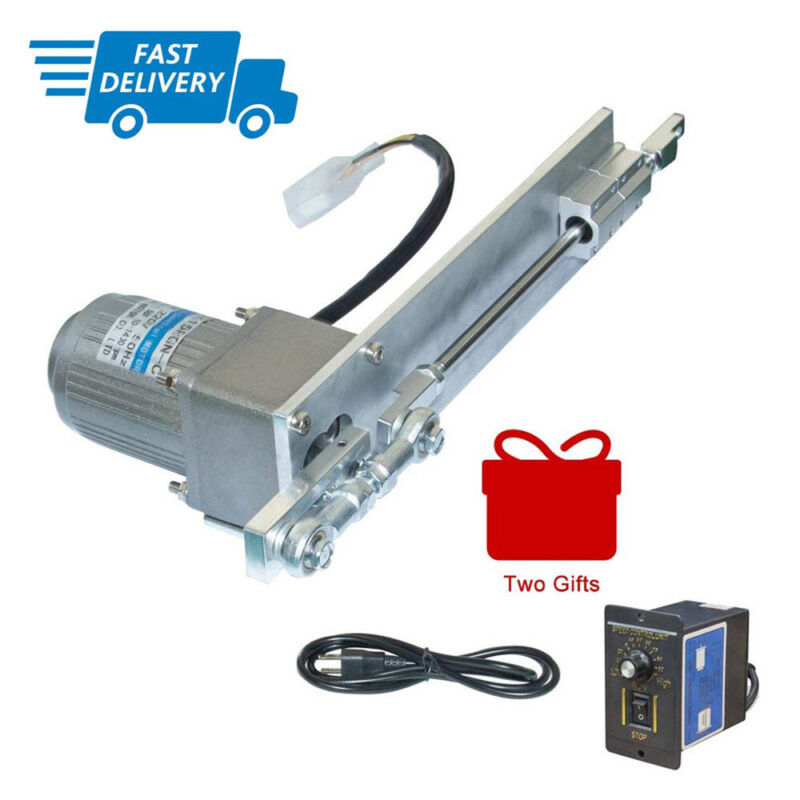 AC 110V 220V Linear Actuator Reciprocating Electric Motor + PWM Speed Controller