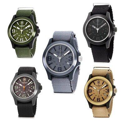 Victorinox Original Quartz Movement Men's Watch Collection