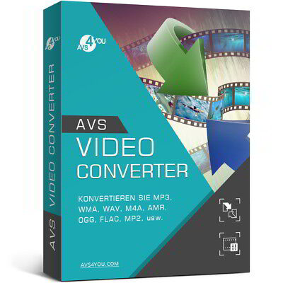 Avs Video Converter (AVS Video Converter 11.0 deutsche Vollver. lifetime Download 34,99 statt 58,99 !)