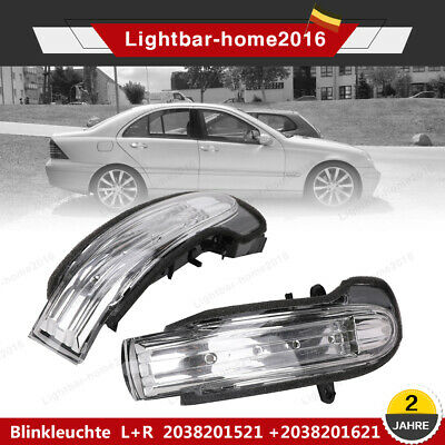 Spiegelblinker Blinker Blinkleuchte Für Mercedes C-Klasse W203 S203 Link + Recht