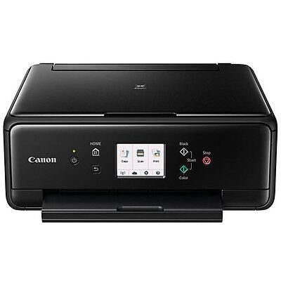Canon PIXMA TS6020 Compact Wireless All-in-One Auto Duplex Printer (Black)