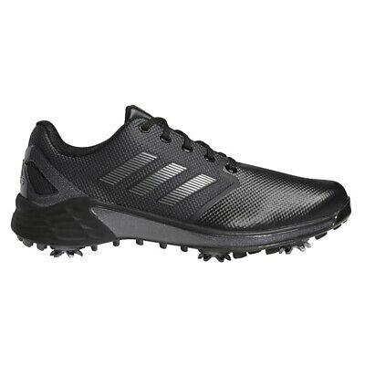 NEW Mens Adidas 2021 ZG21 Golf Shoes Black / Silver / Grey 11.5 M - $164.99