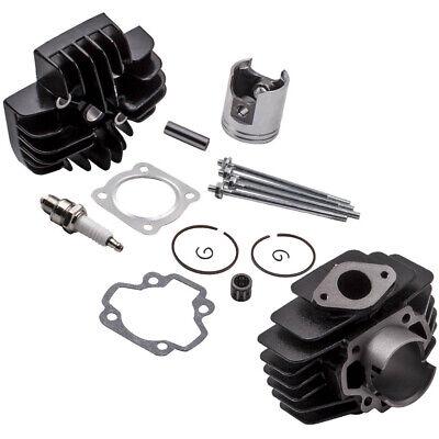 FOR <em>YAMAHA</em> PW50 QT50 ENGINE HEAD BORE CYLINDER BARREL PISTON RING GASK