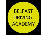 Learn to drive with the Belfast Driving Academy (SPECIAL OFFERS)