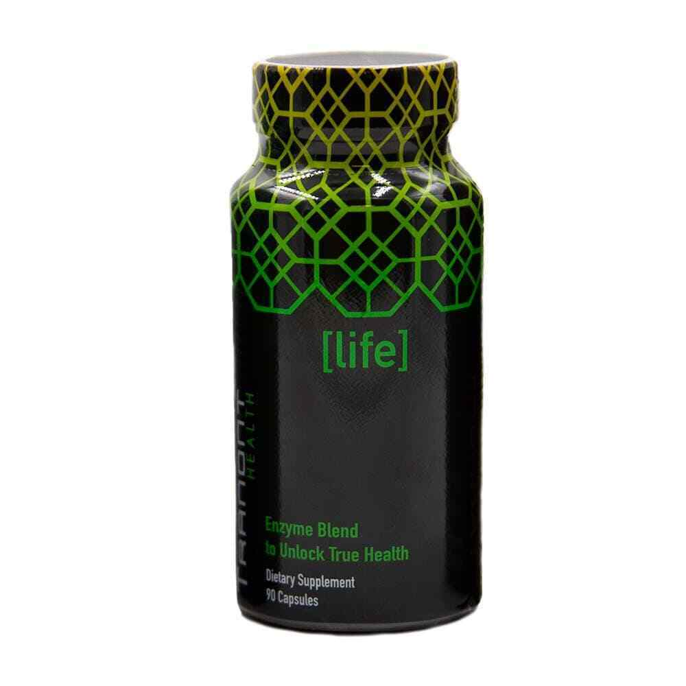 #1 Tranont LIFE Health Life Enzyme Blend With A Healthy Digestive System 90 Caps