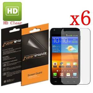 6X HD Clear Screen Protector Guard For Samsung Galaxy S2 Epic 4G Touch Sprint
