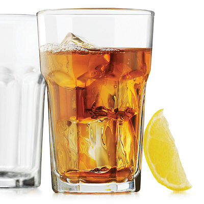 Set of 6 Libbey # 15237 Gibraltar DuraTuff 10 oz Beverage Glass