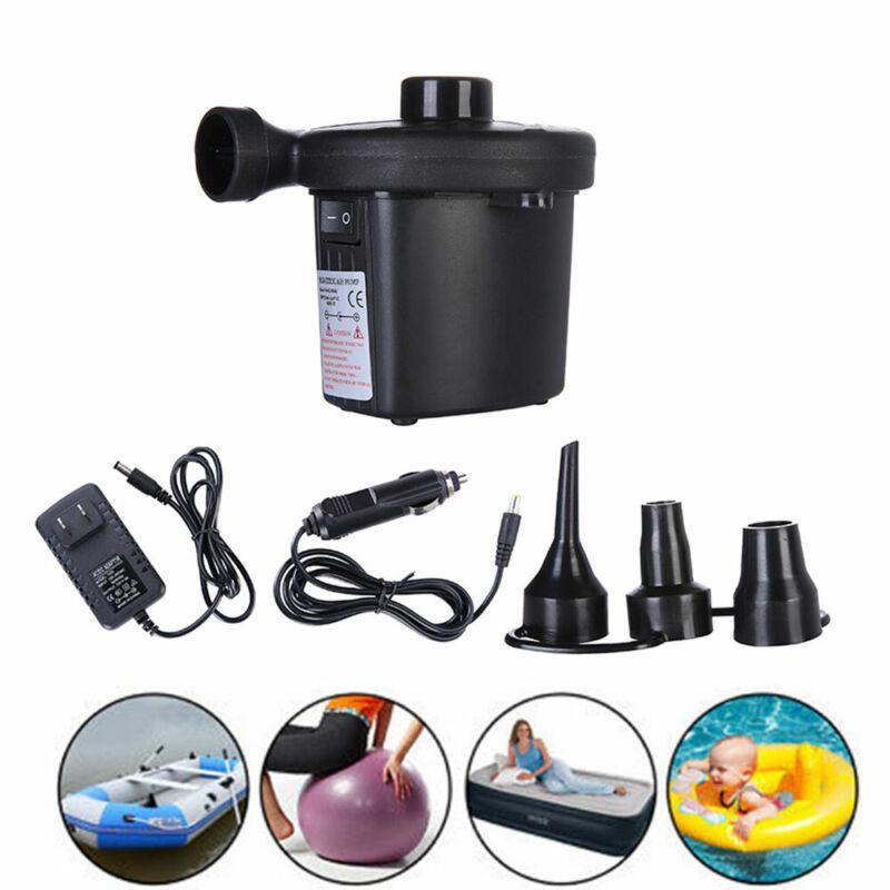 Electric Portable Air Pump for Inflatables Air Mattress Raft