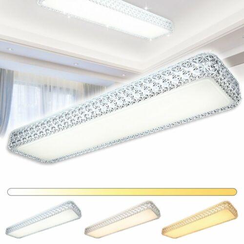 30W LED Kristall Deckenlampe Deckenleuchte 3in1 Wohnzimmer Flur Küche Wandlampe