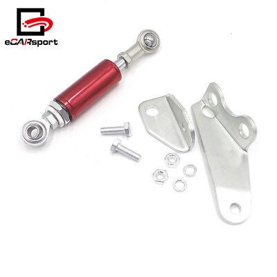 (Universal Torque Damper Brace Shock Mount Kit For Honda Civic EK3 EK9 EJ9 96-00)