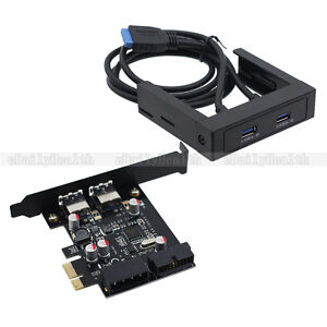 3-5-Floppy-Bay-USB-3-0-Front-Panel-Ports-with-expansion-NEC-PCI-E-Express-Card