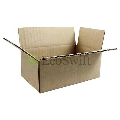 1-200 6x4x3 Ecoswift Cardboard Packing Mailing Shipping Corrugated Box Cartons
