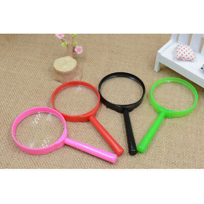 Children's Magnifying Glass (8CM CHILDREN KIDS MAGNIFYING GLASS BUG VIEWER TOY SUPER ZOOM EXPLORE 3Pcs)