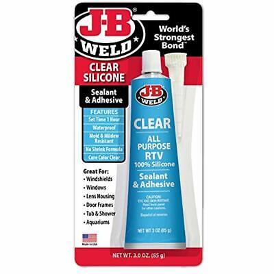 J-B Weld 31310 Clear Ll-Purpose RTV Silicone Sealant And Adhesive, 3. Automotive