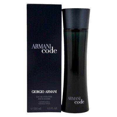 ARMANI CODE by Giorgio Armani for Men cologne edt 4.2 oz NEW IN BOX