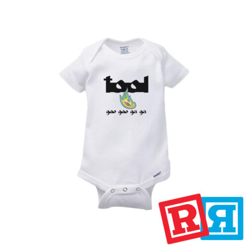 TOOL Lateralus Baby Onesie Rocker Bodysuit Unisex Gerber Organic Cotton