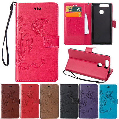 Magnetic Stand Leather Flip Wallet Case Cover For HUAWEI Mate 8 Honor 5X 7i P9/8](huawei mate 9 deals)