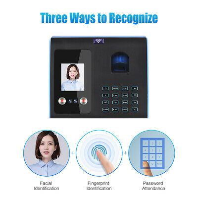 E6 Facefingerprintpassword Attendance Time Clock Mix Biometric For Employees