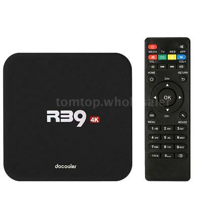 R39 RK3229 Smart Android 6.0 Quad Core TV Box WiFi 3D Movies H.265 4K Media 8GB