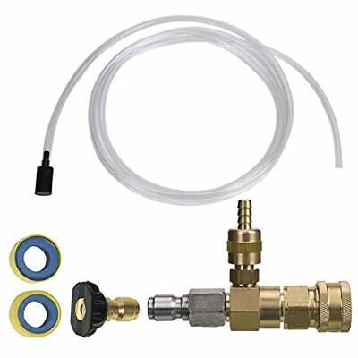 Adjustable Chemical Injector Kit For Pressure Washer Soap Injector 38 Inch