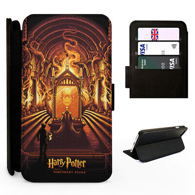 Harry Potter Sorcerers Stone - Flip Phone Case Cover - Fits Iphone / Samsung