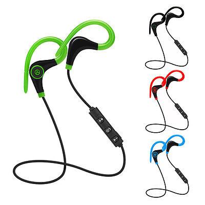 Wireless Sport Stereo Bluetooth Headset Earphone Headphone For iPhone Samsung LG
