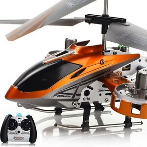 New AVATAR 4CH Mini Metal Infrared Remote Control RC Helicopter LED Light w/GYRO