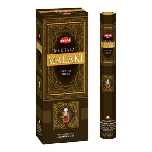 HEM Incense Mukhalat Malaki 120-Sticks Free Shipping